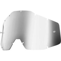 Lente Specchiata Argento per Maschera 100% Serie 1 - 100%