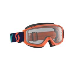 SPLIT OTG Orange/Blue/Clear Maschera - SCOTT
