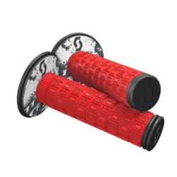 MELLOW Neon Red Blk Manopole - SCOTT