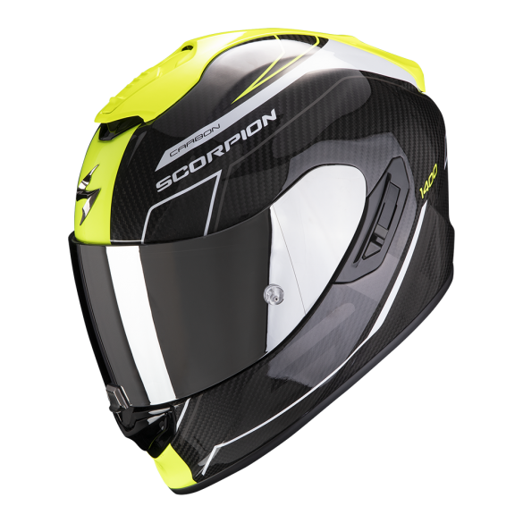 Casco EXO-1400 CARBON AIR Beaux Giallo Nero - SCORPION