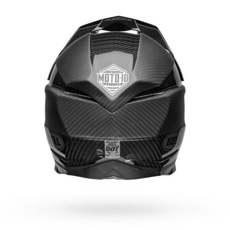 Casco MOTO-10 SPHR RHYTHM M/G BK/SL - BELL
