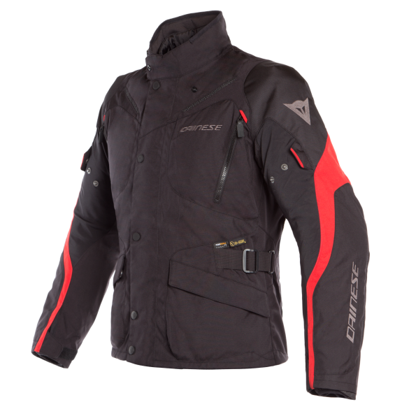 Giacca TEMPEST 2 D-DRY Nero Rosso - DAINESE