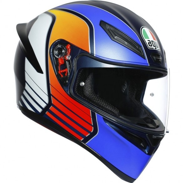 K1 POWER Matt Bl/Ora/Wht - AGV