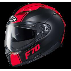 Casco F70 MAGO Nero Rosso - HJC