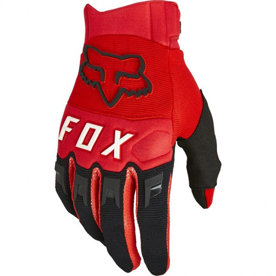 Guanto corto DIRTPAW Rosso - FOX